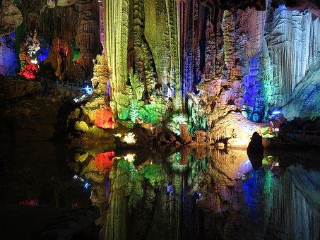 Karst, Cave, Rock, Guilin, Stone, Spectacular