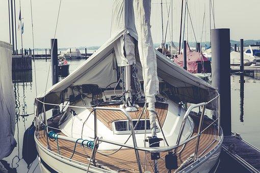 Sail, Sailing Boat, Water, Sea, Lake Constance, Boat