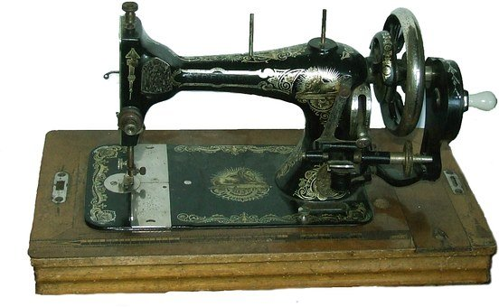 Sewing Machine, Vintage, Iron, Old, Retro, Craft