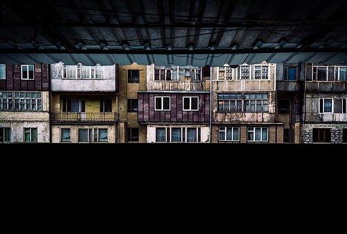 Architecture, Building, Look, City, Balcony, Street