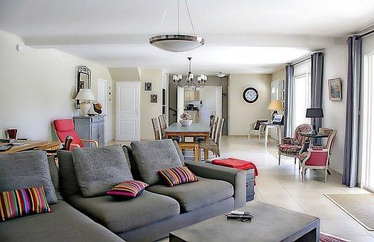 Living Room, Armchair, Furnishing, Table, Chairs, Decor