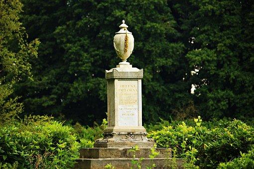 Vase, Sculpture, Monument, Louise Monument