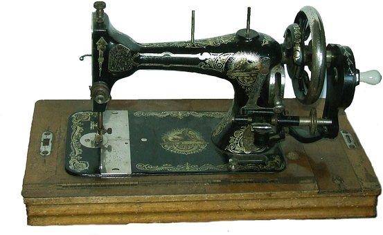 Sewing Machine, Vintage, Iron, Old, Retro, Craft