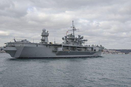 Warships, Turkey, Bosphorus, Strait