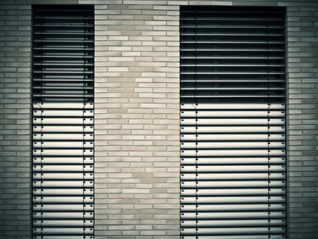 Window, Architecture, Venetian Blinds, Facade, Building