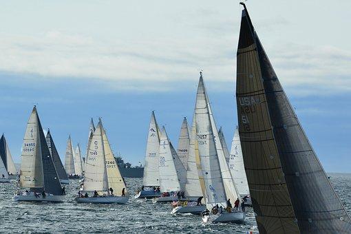 Swiftsure, Yacht, Race, Victoria, Bc, Canada, British