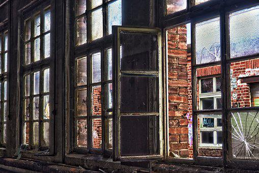 Brick, Old, Wall, Architecture, Window