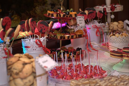 Celebration, Candle, Christmas, Table, Food, Decoration