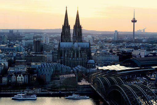 City, Skyline, Architecture, Cologne, Cologne Cathedral
