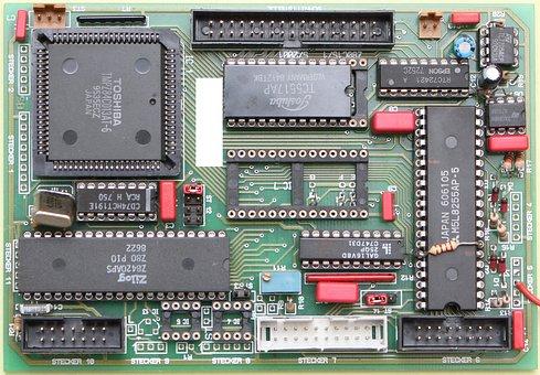 The Main Processor, Semiconductor, Microchip, Component