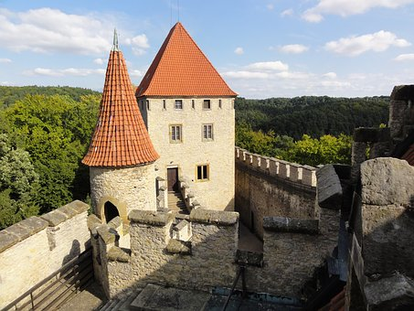 Gothic, Castle, Czechia, Architecture, Old, Ancient