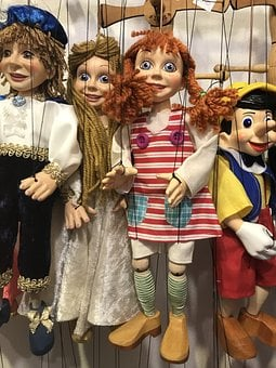 Doll, Puppet Theatre, Pippi Longstocking, Portrait