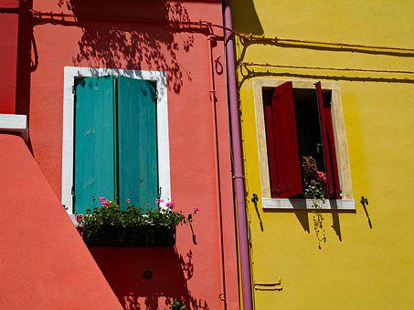 Window, Facade, Home, Door, Architecture, Italy