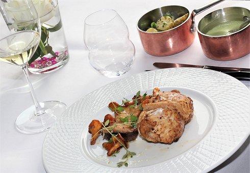 Food, Plate, Dinner, Restaurant, Meal