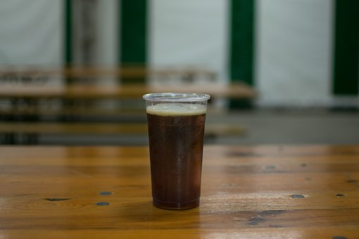 Wood, Drink, Of Wood, Beer, Dark, Food, Rustico, Table