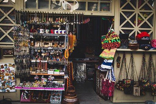 Stock, Market, Shopping, Shop, Souvenir, Commerce, Sale