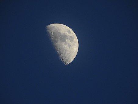Moon, Sky, Astronomy, Luna