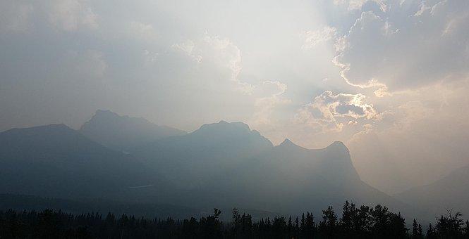 Fog, Sky, Nature, Landscape, Mountain, Smokey