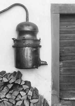 Old, Museum Of Local History, Brandy, Distillery