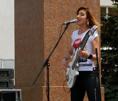 Address By, Singer, Music, Musician, Concert, Woman