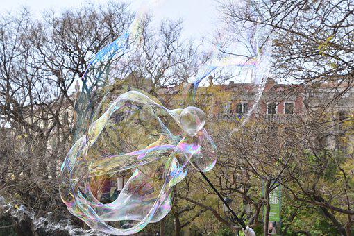 Soap Bubble, Lightness, Outside