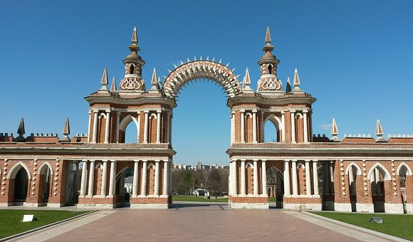 Moscow, Russia, Tsaritsyno, Palace, Museum
