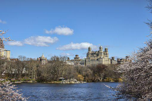 Architecture, Water, Tree, Old, Sky, Park, Central Park