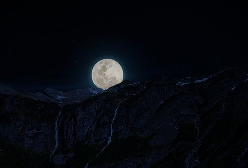 Moon, Sky, Nature, Astronomy, Planet