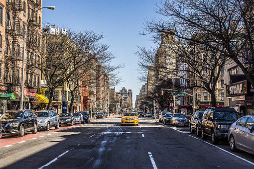 Street, Road, City, Traffic, Car, Urban, New York