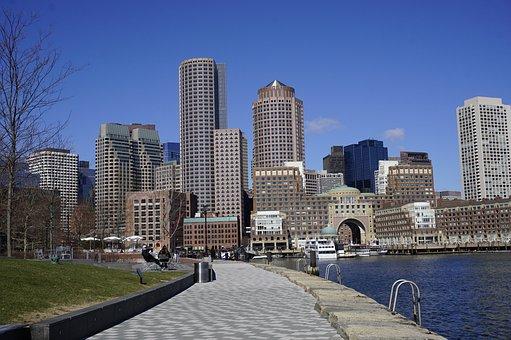 City, Architecture, Horizon Line, Skyscraper, Townscape