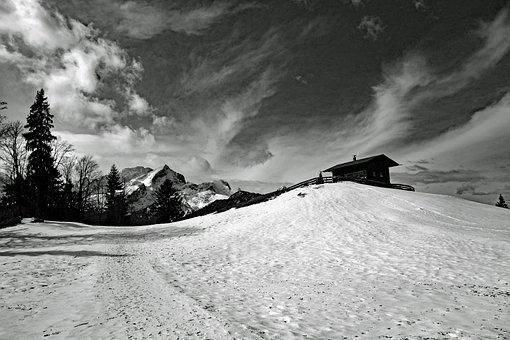 Snow, Winter, Landscape, Mountain, Nature