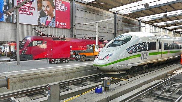 Transport System, Train, Railway, Station, Auto