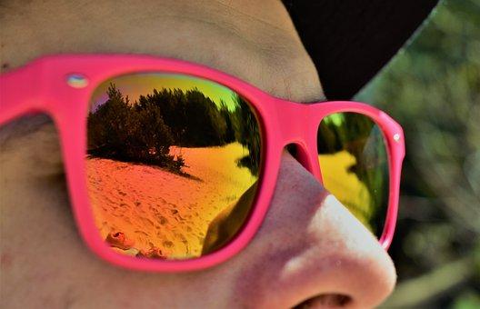 Summer, Desktop, Sunglasses, Closeup, Fashion, Hot, Sun