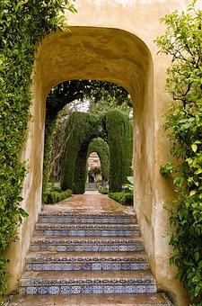 Architecture, Travel, Garden, Park, Arch, Royal Palace
