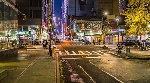 Street, City, Road, Traffic, Travel, New York