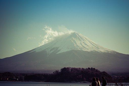 Mountain, Volcano, Landscape, Travel, Sky, Fuji, Japan