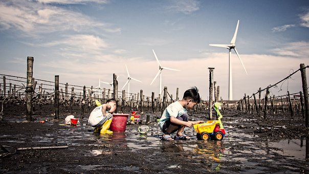 Waters, People, Energy, Pollution, Environment, Outdoor