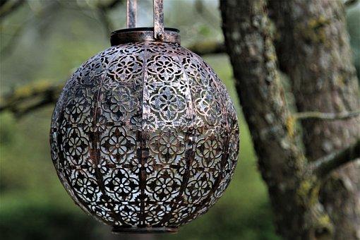 Tree, Nature, Wood, Pattern, Lamp