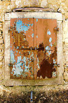 Old, Wall, Architecture, Building, Rusty, Home, Window