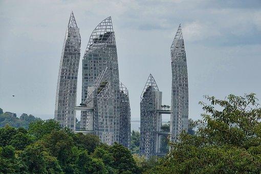 Singapore, City, Architecture, Skyscraper