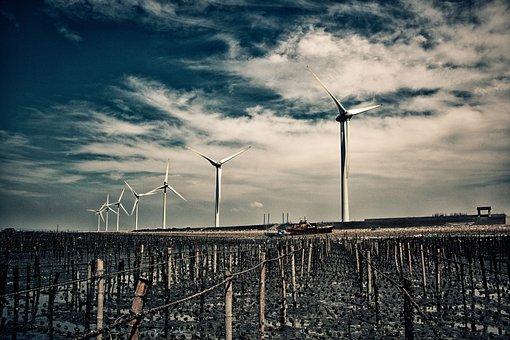 Electricity, Energy, Turbine Engine, Power, Grinding