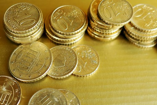 Euro Cent, Money, Currency, Finance, Bank, Company