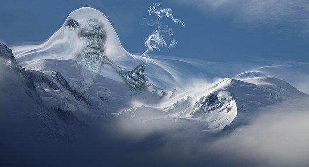 Snow, Ice, Nature, Panorama, Winter, Mountain