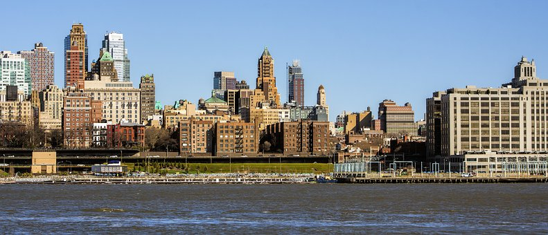 Architecture, City, Panoramic, Travel, Old, New York