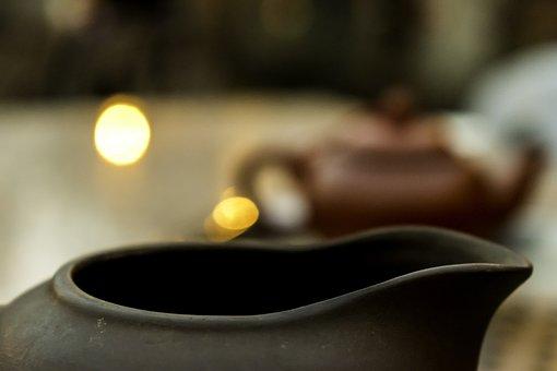 Pottery, Pot, Drink, Clay, Coffee, Dark, Table, Desktop