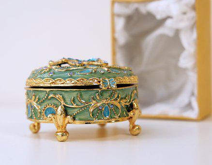 Decoration, Luxury, Gold, Jewelry, Treasure, Precious