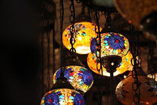 Lantern, Decoration, Celebration, Light, Ramadan