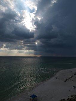 Water, Panoramic, Sea, Sky, Nature, Beach, Landscape