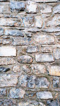 Stone, Wallpaper, The Ancient Wall, Vertical, Italy