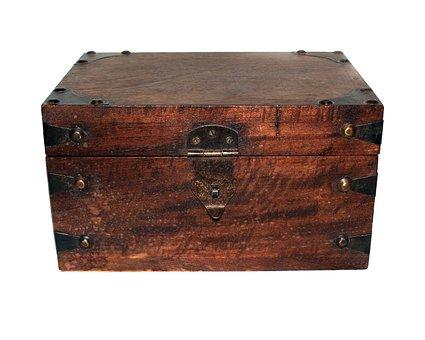 Case, Box, Storage, Old, Wood, Treasure, Keepsake